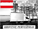 Austrija - Lietuva ! Galime parvežti jūsų krovinius, baldus,