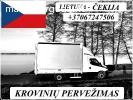 ČEKIJA - Lietuva ! Galime parvežti jūsų krovinius, baldus, b