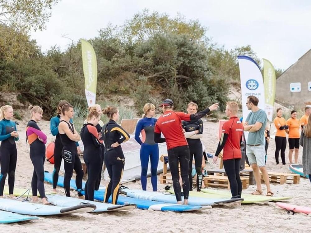 IKlaipėdos paplūdimyje – netradicinio sporto festivalis
