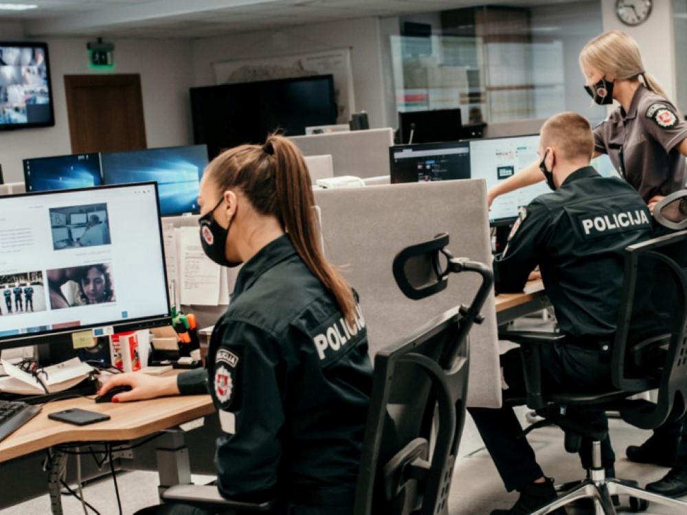 """IElektroninėje erdvėje """"patruliuojantiems"""" pareigūnams – šimtai gyventojų skundų"""