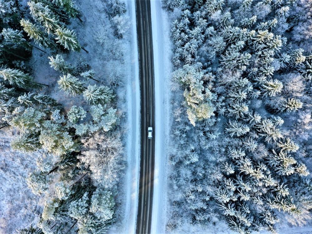 IInformacija dėl kelių priežiūros seniūnijose žiemos metu