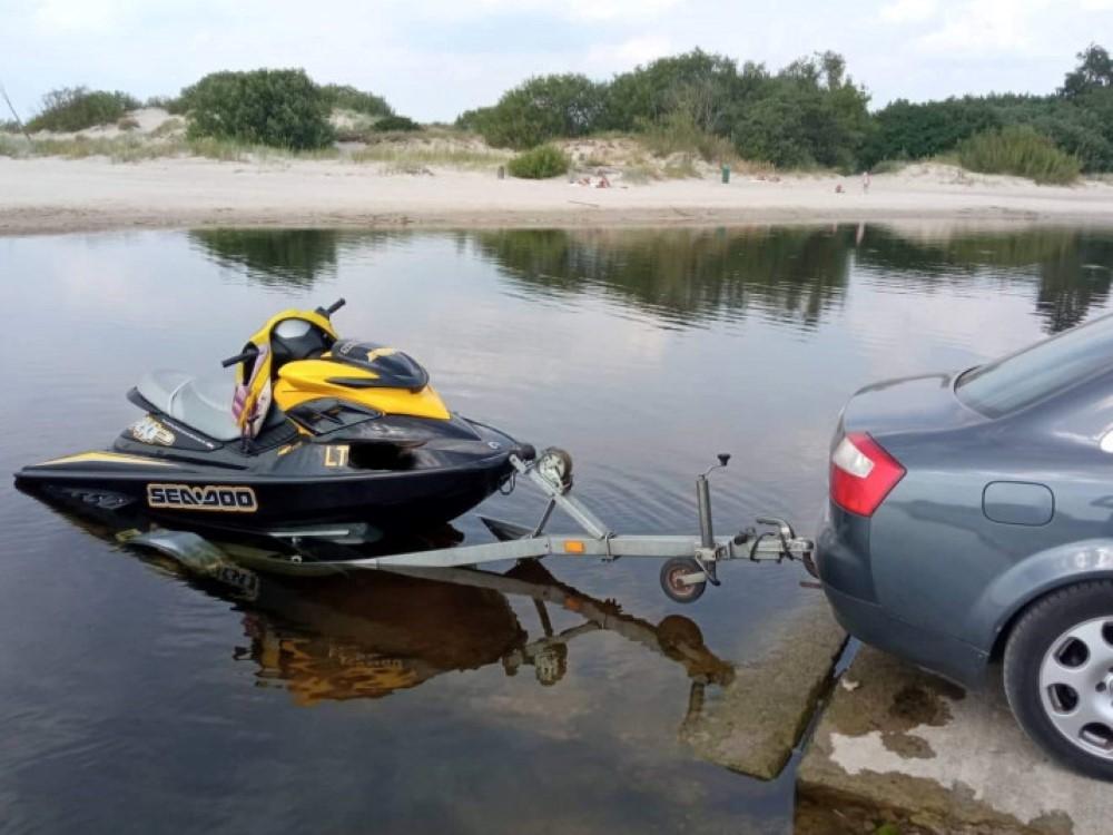 """I""""Poilsiauk atsakingai"""": Klaipėdos aplinkosaugininkų sulaikytam vandens motociklininkui teks nemenka bauda"""